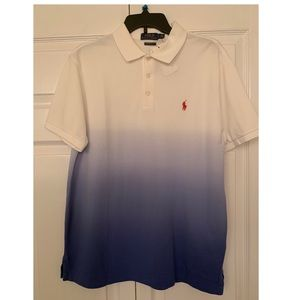 Ralph Lauren Polo shirt Custom Slim Fit- Large